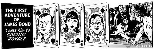 james bond comic art strip cartoon john mclusky