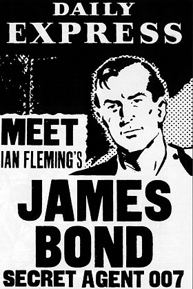 james bond comic art john mclusky