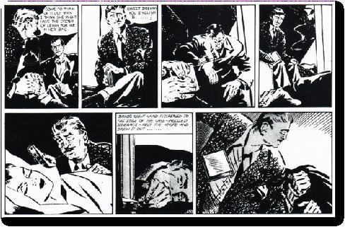 james bond original comic art daily express john mclusky
