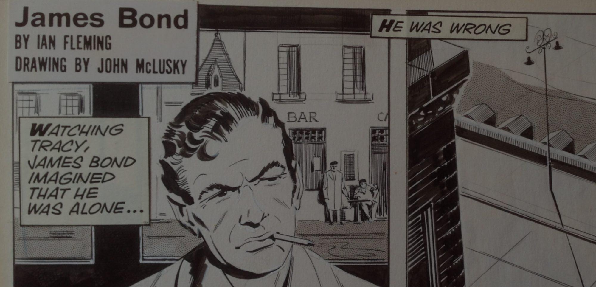 James Bond 007 Comic Art
